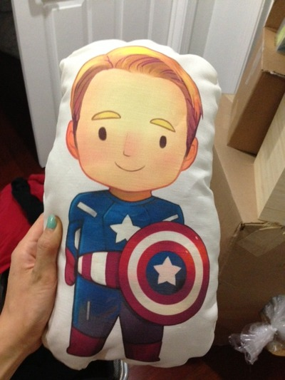 Cap pillow