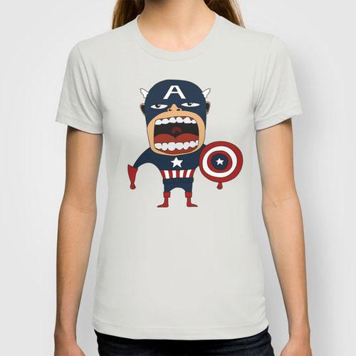 Screaming Captain America