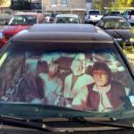 Star Wars sunshade!