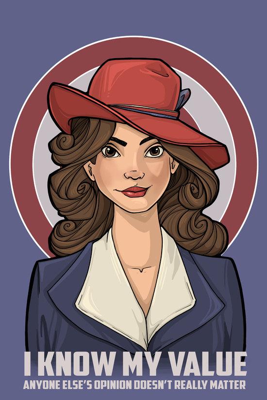 Agent-Carter-Karen-Hallion-Art