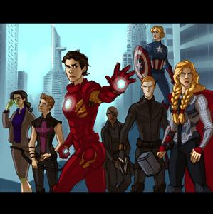 Lady-Avengers-Black-Widow-Melissa-Erickson-Art