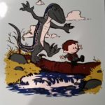 Calvin-and-Hobbes-Jurassic-art-Jennette-Brown