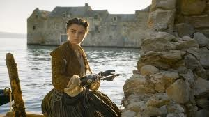 Homesick, sick of the stick schtick and prick clique, Arya picks up her toothpick double quick: five times fast now.