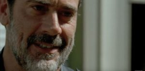 Who are you? You are Negan, and you NEVER. STOP. TALKING.