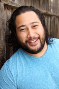 In real life, he is a Jewish Samoan named Cooper Andrews.