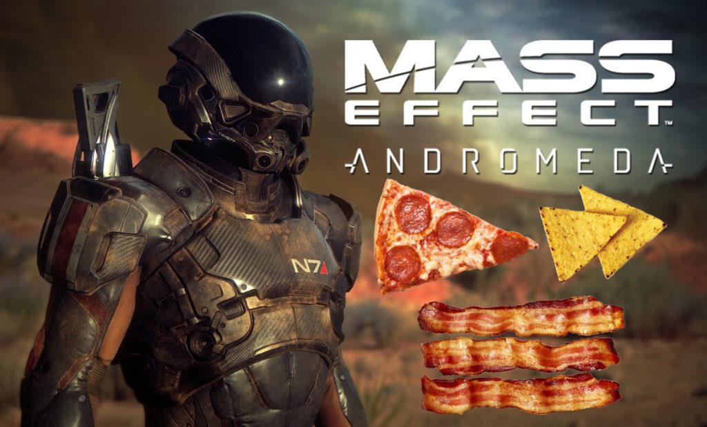 mass effect andromeda snacks