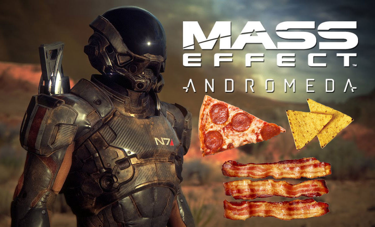 mass effect andromeda snacks