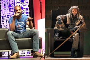 Left: Khary Payton. Right: King Ezekiel. Barely any difference.