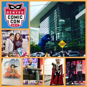 DCC17 Day One Collage
